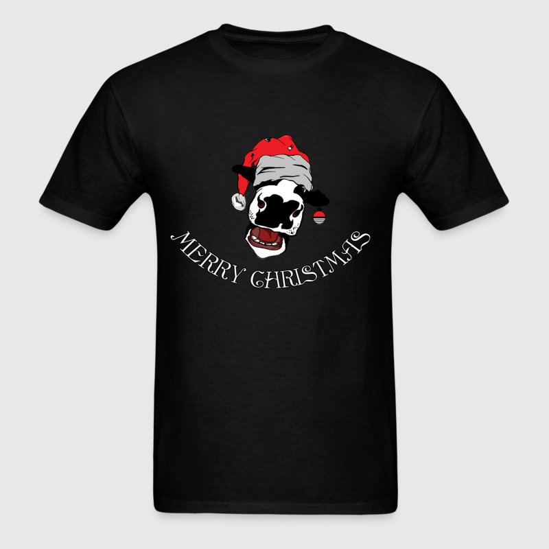 Christmas Cow - Men's T-Shirt