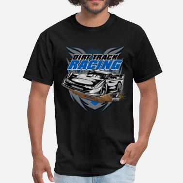 Track Modified Car Racer - Men's T-Shirt