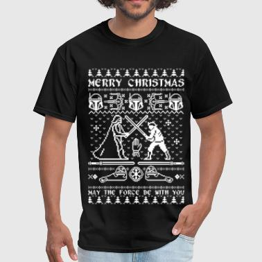 Star Wars Chirstmas - Ugly Christmas Sweater - Men's T-Shirt