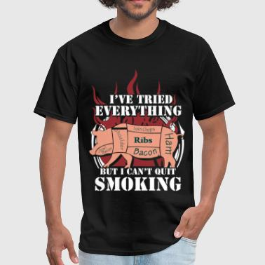 Smoked Meat Bacon - I've tried everything to quit smoking - Men's T-Shirt