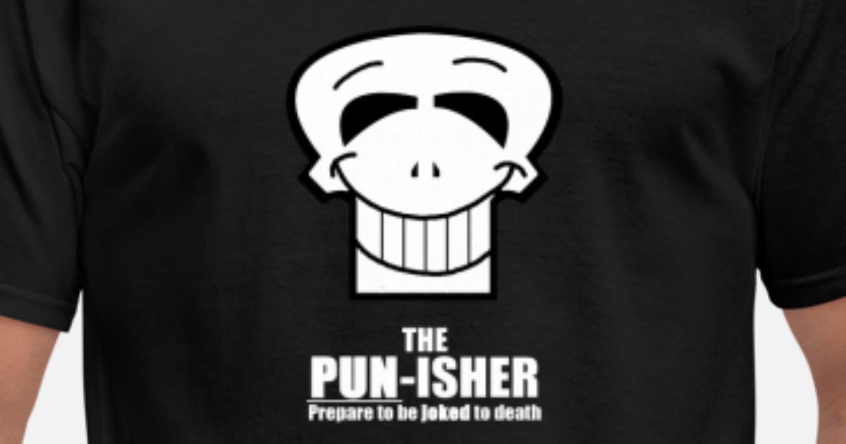 The Pun Isher Mens T Shirt Spreadshirt