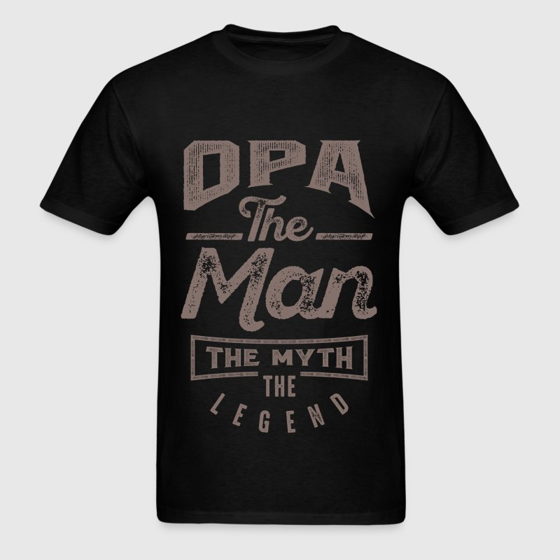 Opa. The Man. The Myth. The Legend - Men's T-Shirt