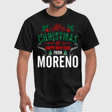 mery_christmas_happy_new_year_from_moren - Men's T-Shirt