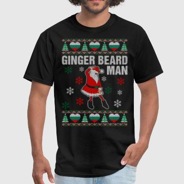 Ginger Beard Man Ginger Beard Bulgarian Man - Men's T-Shirt