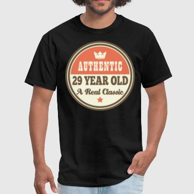 29th Birthday Vintage 29 - Men's T-Shirt