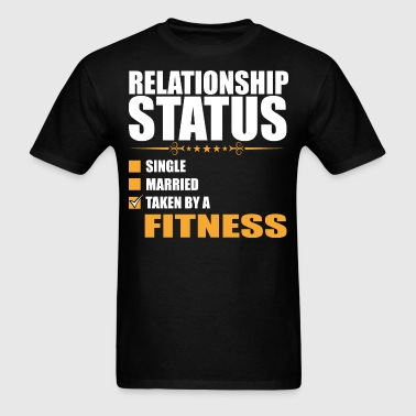 Relationship Status Single Married Fitness - Men's T-Shirt