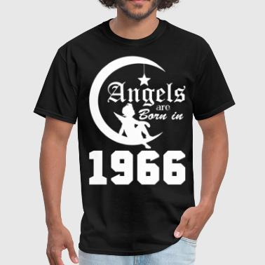 Angels are Born in 1966 - Men's T-Shirt
