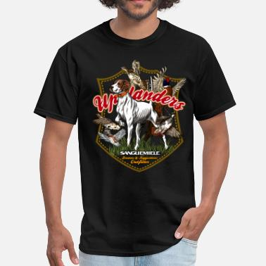 Sanguemiele Bird Dog birds_of_uplands - Men's T-Shirt