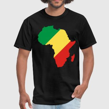 Democratic Republic Of The Congo Republic Of Congo In Africa Map - Men's T-Shirt