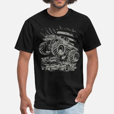 Monster Truck Monster Truck USA - Men's T-Shirt