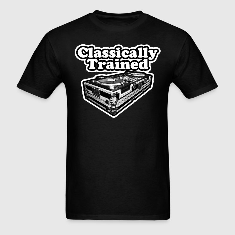 Classically Trained Dj. - Men's T-Shirt
