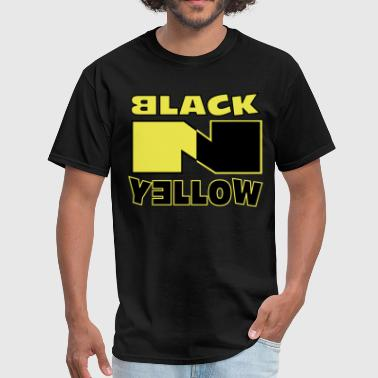 Black N Yellow - Men's T-Shirt