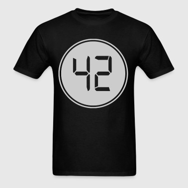 42 The Meaning Of Life, The Universe, And Everythi - Men's T-Shirt
