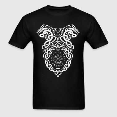 Vikings Vegvisir Knot - Men's T-Shirt