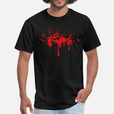 Twilight BLOODY TWILIGHT SPLATTER BLOOD STAIN Vector - Men's T-Shirt