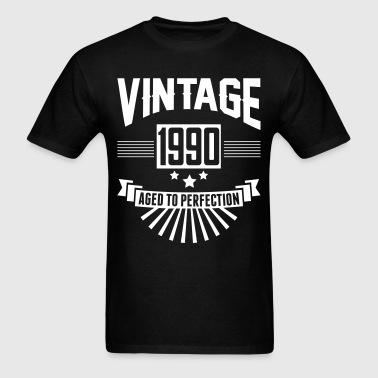 VINTAGE 1990 - Aged To Perfection - Men's T-Shirt