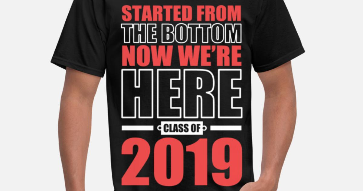 Class Of 2019 Graduation Men S T Shirt Spreadshirt
