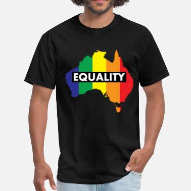 Marriage Equality Vote Yes-Australia Marriage Equality - Men's T-Shirt