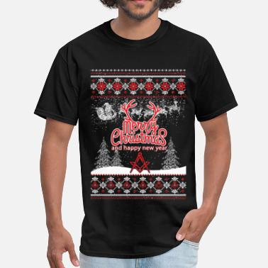 Mason Mason - Ugly Christmas Sweater - Men's T-Shirt
