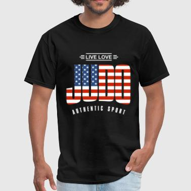 Live Love Judo USA - Men's T-Shirt