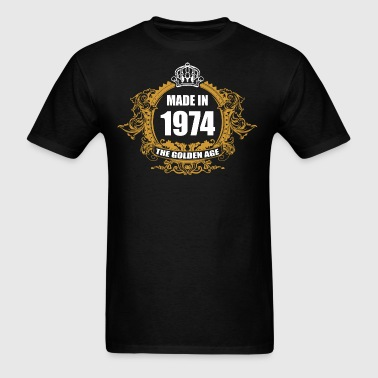 Made in 1974 The Golden Age - Men's T-Shirt
