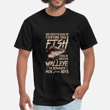 Walleye Fishing Walleye - Men's T-Shirt
