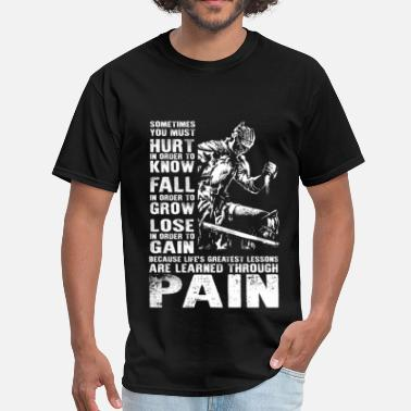 Dark Souls Dark souls - Lessons are learned through pain - Men's T-Shirt