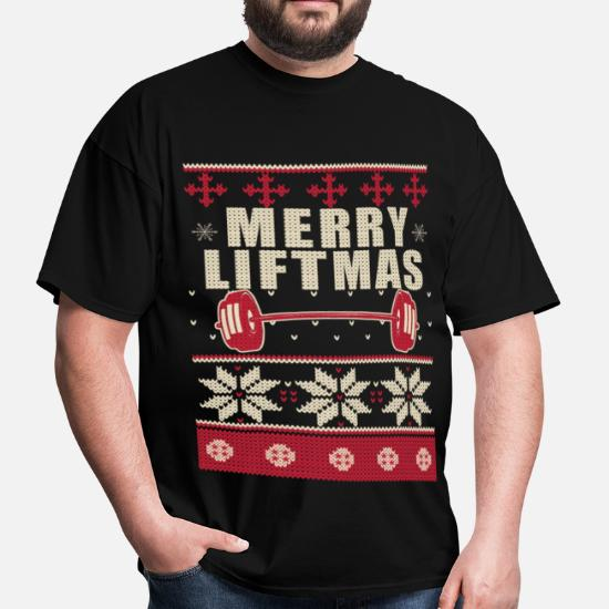 2294c0b8 Bodybuilder Ugly Christmas Sweater Men's T-Shirt | Spreadshirt