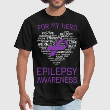 Epilepsy Awareness - Men's T-Shirt