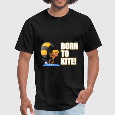 Born To Wakeboard Born to kite - Men's T-Shirt