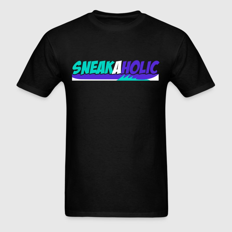 Sneakaholic Graphic - Men's T-Shirt