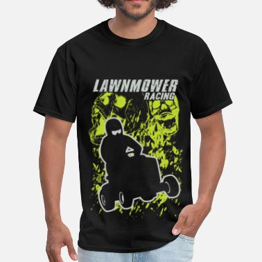 Lawn Mower Lawn Mower Skull Screamer - Men's T-Shirt