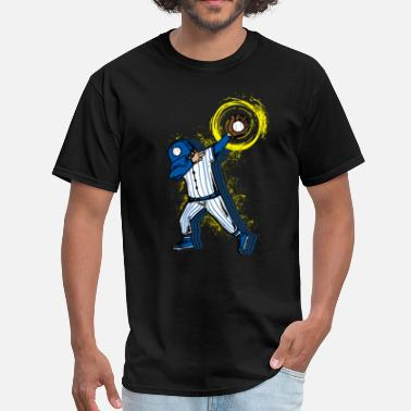 Special Number Gift Dabbing baseball player - Men's T-Shirt