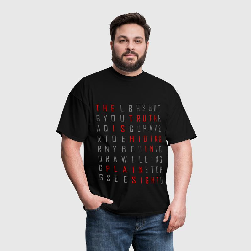 Hidden Truth - Men's T-Shirt