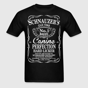 Schnauzers Old Time No1 Breed Canine Perfection - Men's T-Shirt