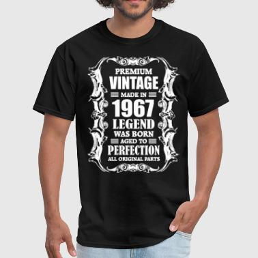 Premium Vintage Made In 1967 Legend Was Born Aged Premium Vintage Made in 1967 Legend was Born aged - Men's T-Shirt