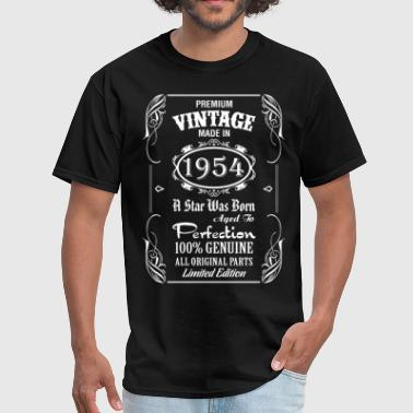 Premium Vintage Made In 1954 - Men's T-Shirt