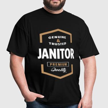 Janitor Logo Tees - Men's T-Shirt