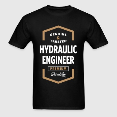 Hydraulic Engineer Logo Tees - Men's T-Shirt
