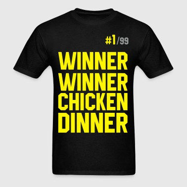 Winner Winner Chicken Dinner Pubg - Men's T-Shirt