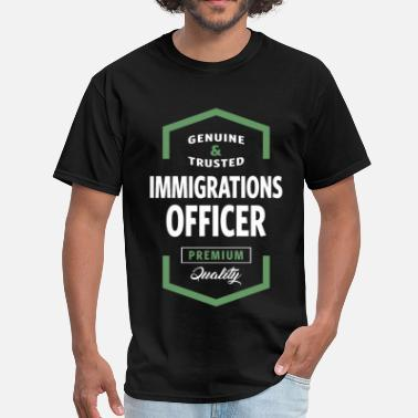 The Office Logo Immigrations Officer Logo Tees - Men's T-Shirt