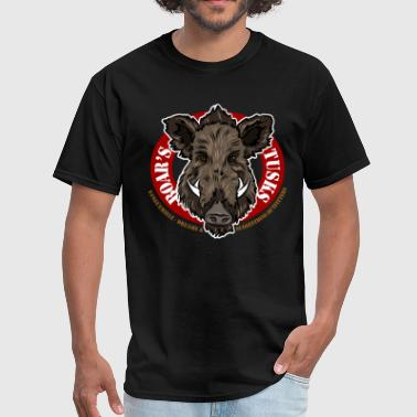 boars_tusks - Men's T-Shirt