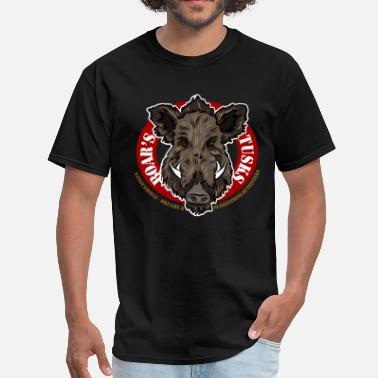 Wild Boar boars_tusks - Men's T-Shirt