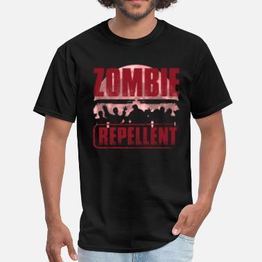 Zombie Apocalypse Zombie Repellent For The Coming Zombie Apocalypse - Men's T-Shirt