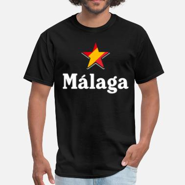 Malaga Spain Stars of Spain - Malaga (dark) - Men's T-Shirt