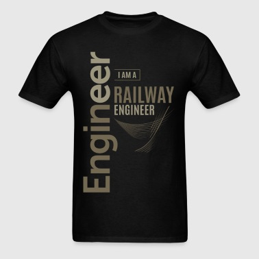 Railway Engineer - Men's T-Shirt