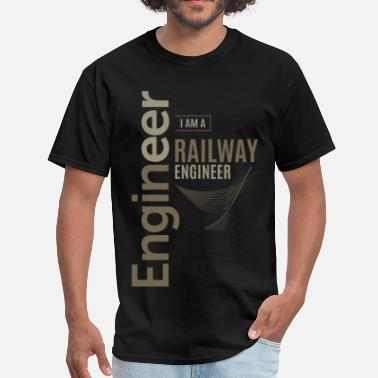 Railway Railway Engineer - Men's T-Shirt