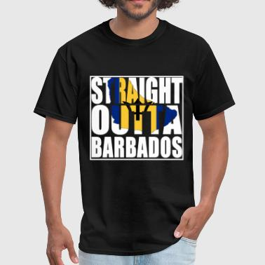 Shaw Brothers Straight Outta Barbados brother t shirts - Men's T-Shirt