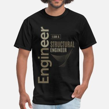 Structure Structural Engineer - Men's T-Shirt
