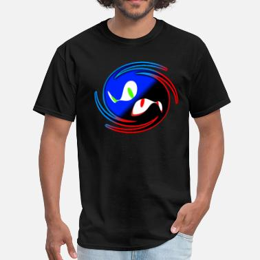Sonic Black and Blue - Men's T-Shirt